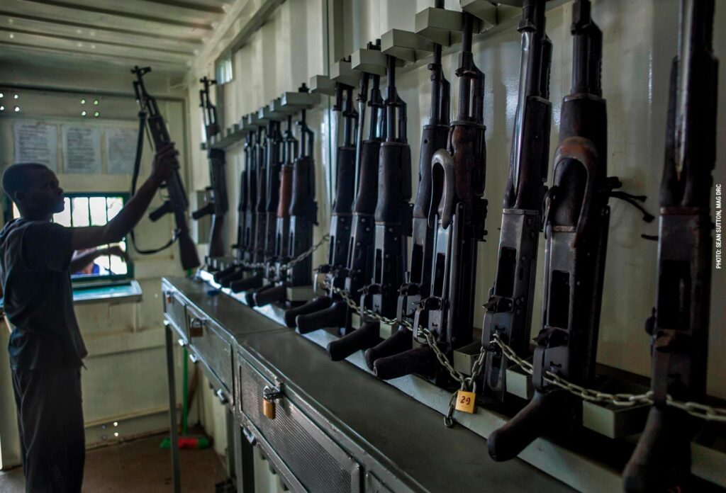 Armoury in DR Congo